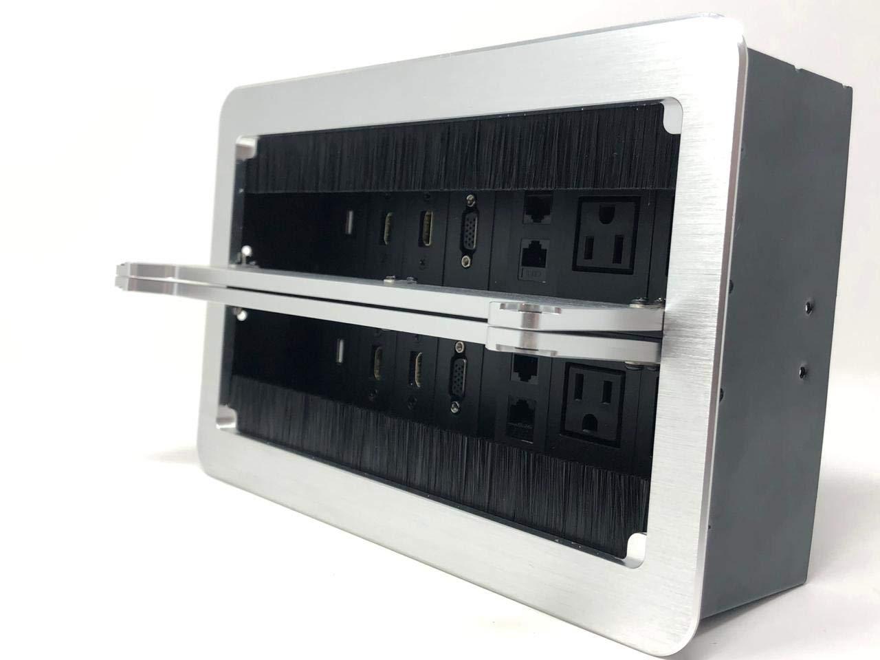 caja multicontactos para escritorio