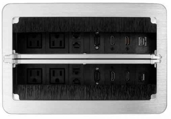 multicontacto para mesa de juntas