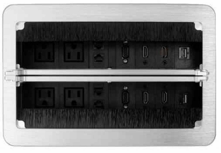 caja de conectividad para mesa de juntas bogota