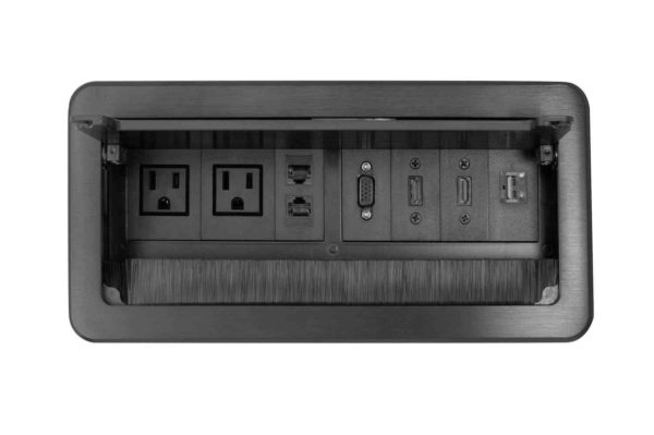 caja de conexiones para escritorio