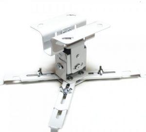 soporte para proyector blanco