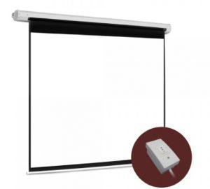 pantalla de proyección eléctrica