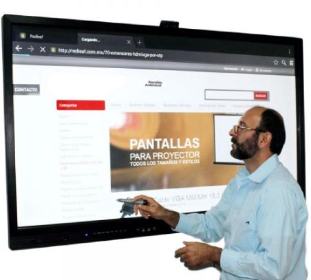 pantalla interactiva tactil precio